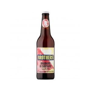 Brothers Rhubarb & Custard Cider 4.0% 12x500ml